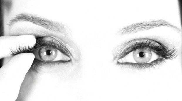 Magnetic False Eyelashes: Corner