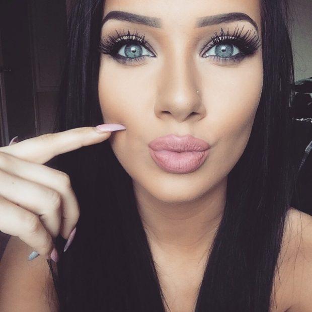 magnetic eyelashes long