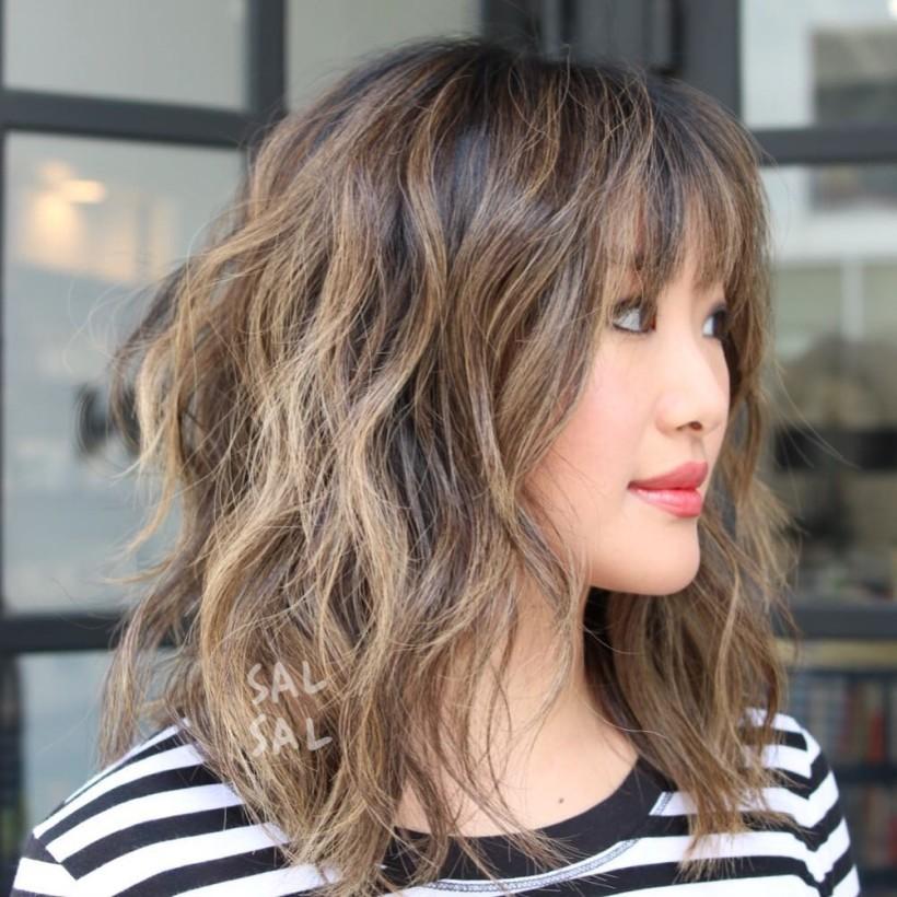 красивая стрижка на средние волосы 2018 женские. После 30 лет