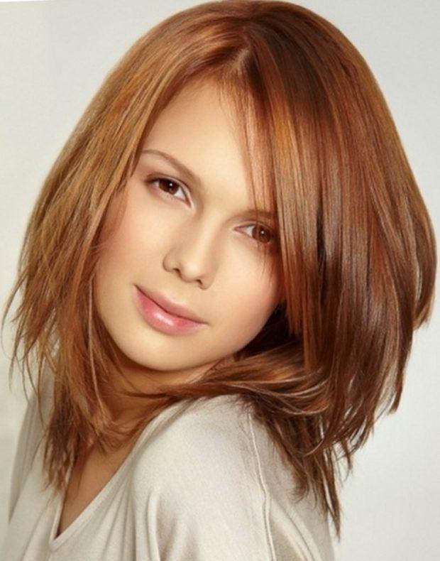 красивая стрижка на средние волосы 2019 2020 женские. После 30 лет
