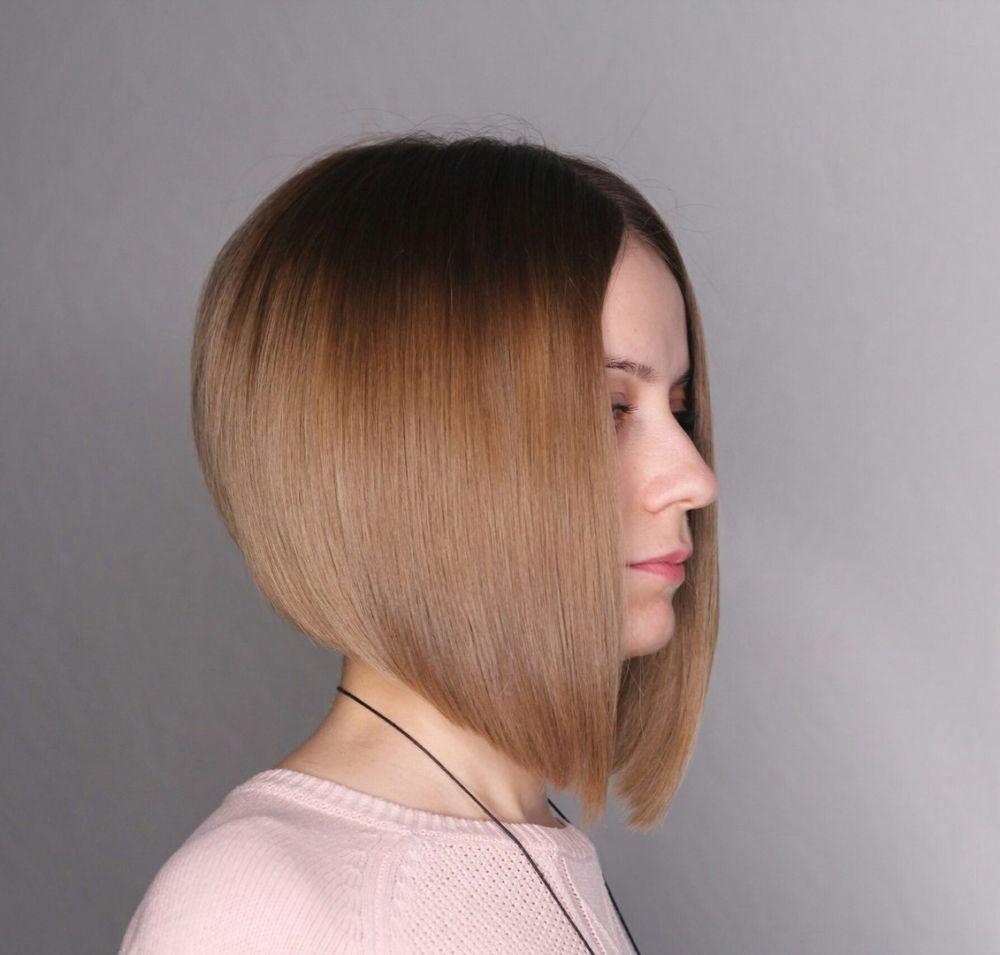 красивая стрижка на средние волосы 2018 женские. Боб каре