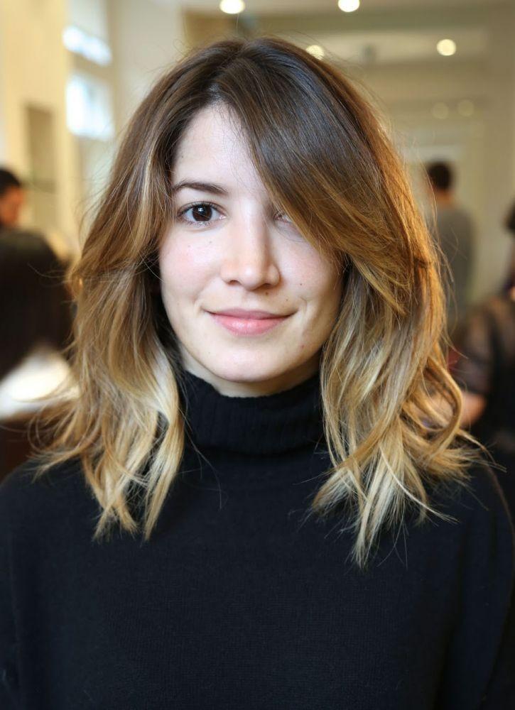 красивые стрижки на средние волосы 2018 женские. Фото. После 40 лет