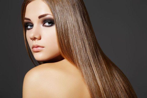 укладка волос 2019-2020 фото: прямые ровные волосы