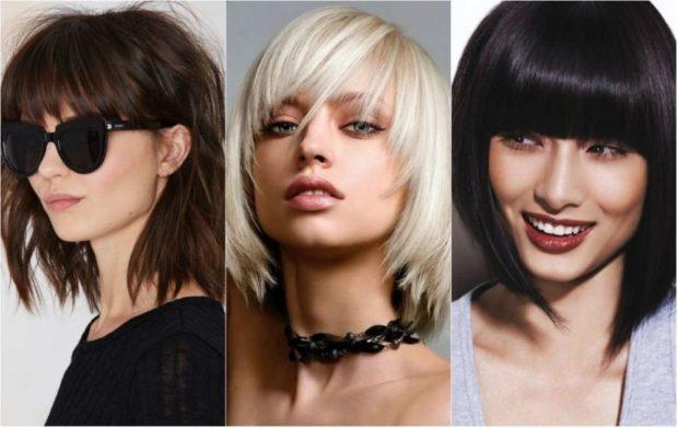 укладка волос 2019-2020