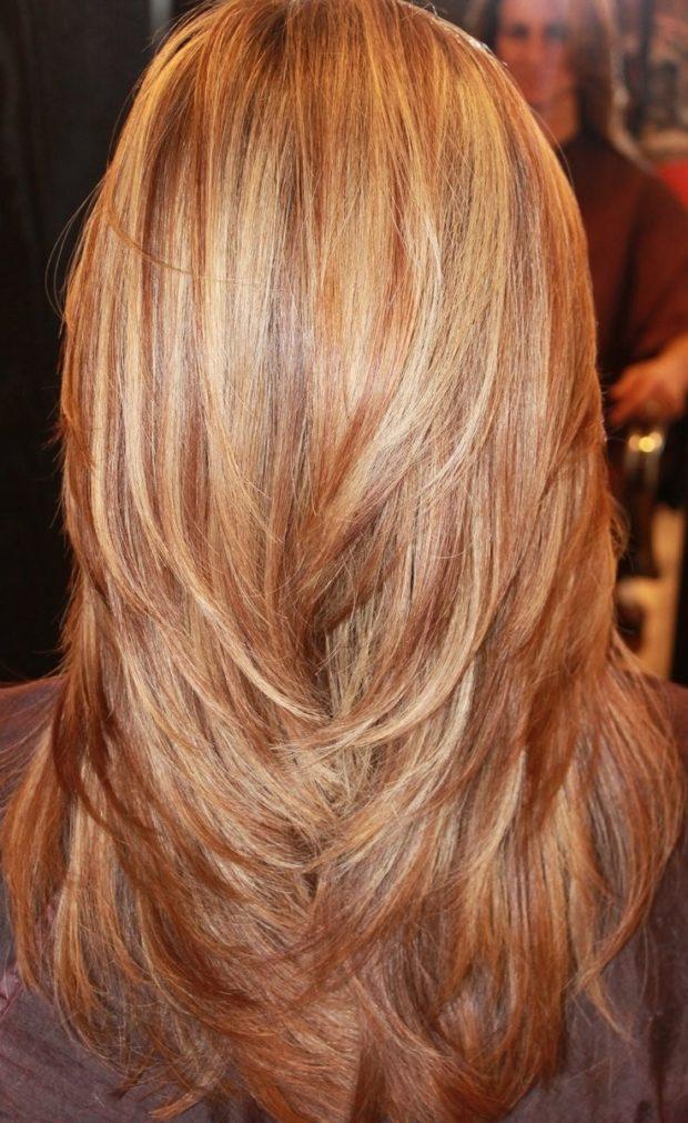 тренды укладки волос: каскад на длинные