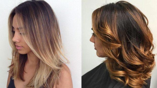 тренды укладки волос: каскад простой с локонами