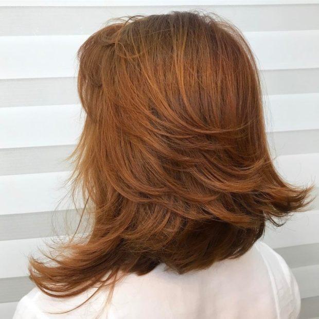 тренды укладки волос: каскад объемный