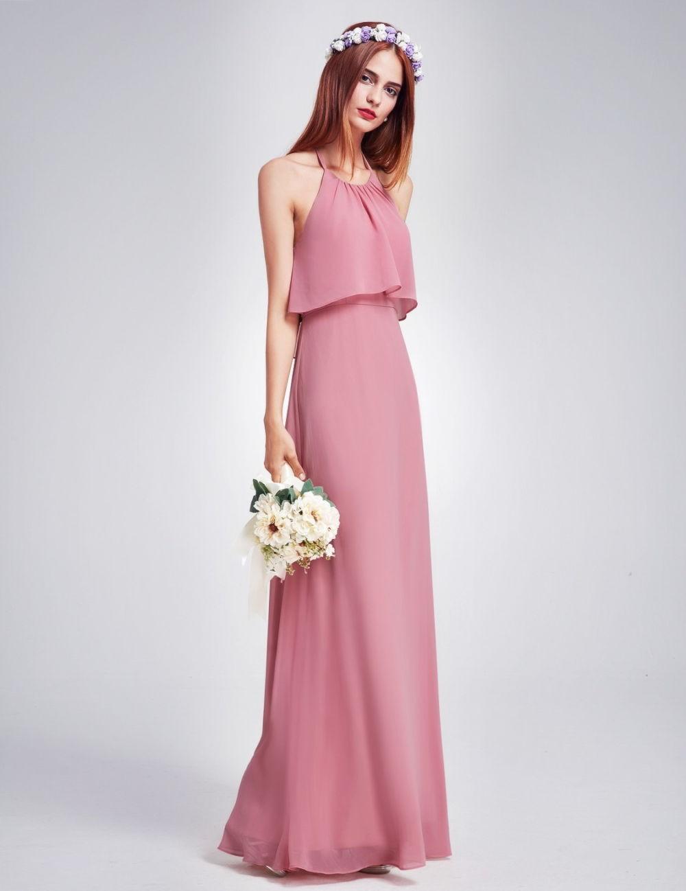 нежно-розовое платье вечернее 2018 открытые плечи модные тенденции тренды фото новинки
