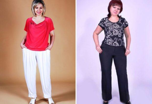 белые брюки под красную футболку черные брюки под футболку в разводы