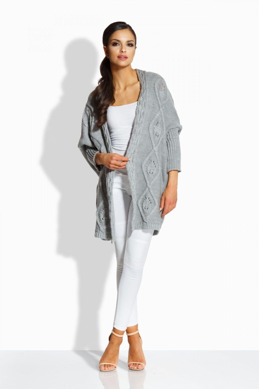 белые брюки под белую майку серый кардиган