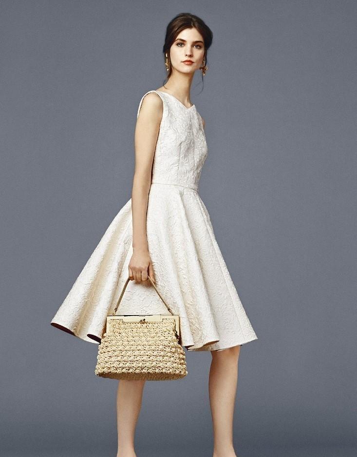 платье белое с юбкой солнце