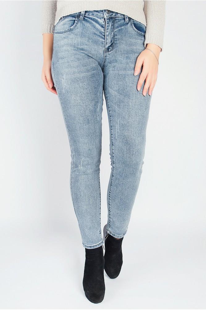 джинсы варенки серо-синие