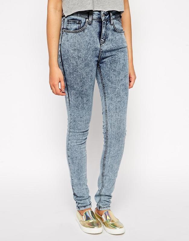 джинсы варенки серо-голубые