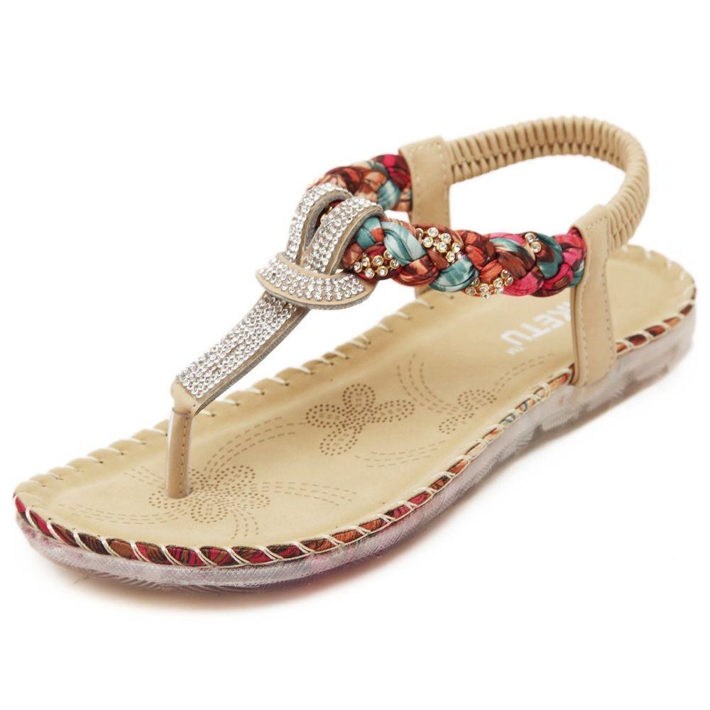сандалии со стразами и плетением