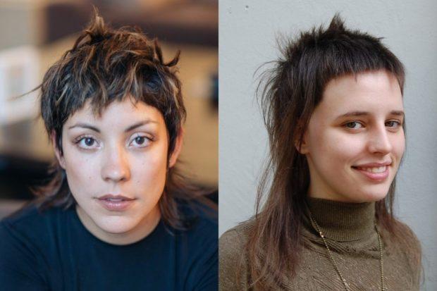 модные стрижки 2018 2019 года: гаврош на короткие волосы удлиненный с короткой челкой