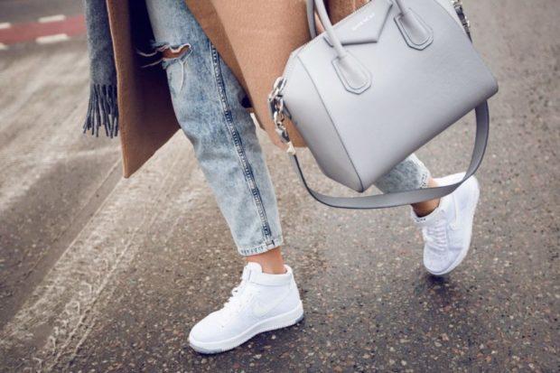 белый кроссовки