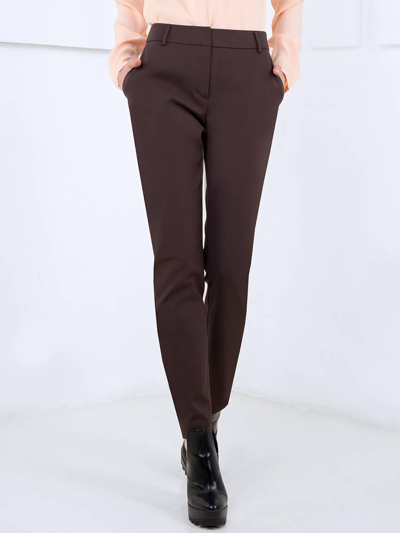 брюки шоколадные классика