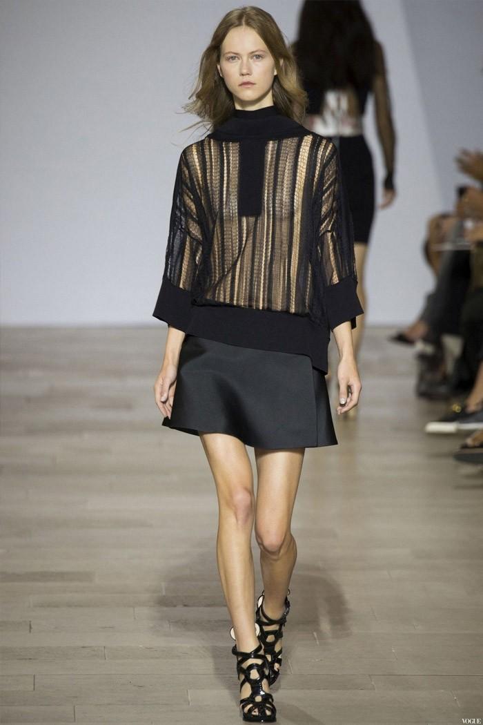 черная юбка под черную прозрачную юбку