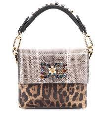 сумка с леопардовым рисунком