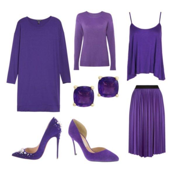 модный фиолетовый цвет 2019