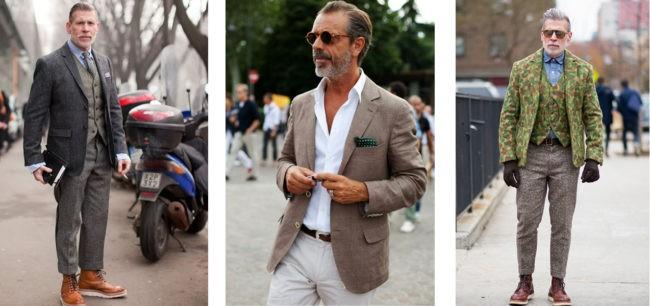 пиджак с белыми брюками