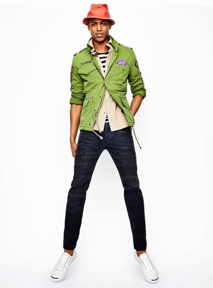 зеленый пиджак и брюки