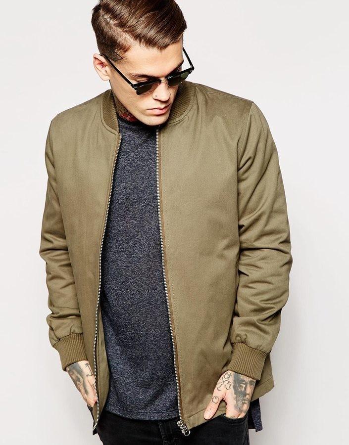 куртка бурого цвета