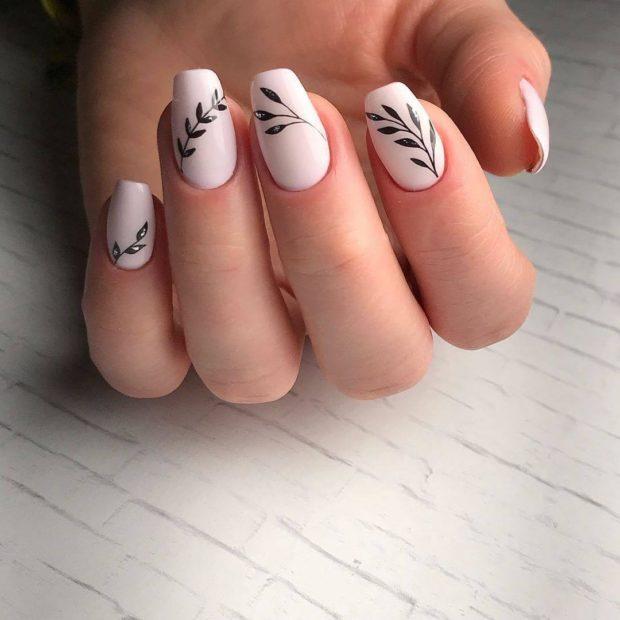 Красивые Новогодние Рисунки На Ногтях