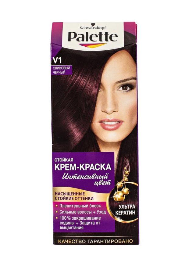 краска для волос цвета марсала