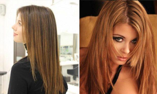 стрижки на длинные волосы: лесенка width=