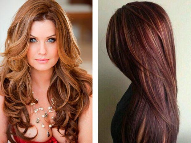 стрижки на длинные волосы: Рапсодия без челки мягкие локоны прямые волосы