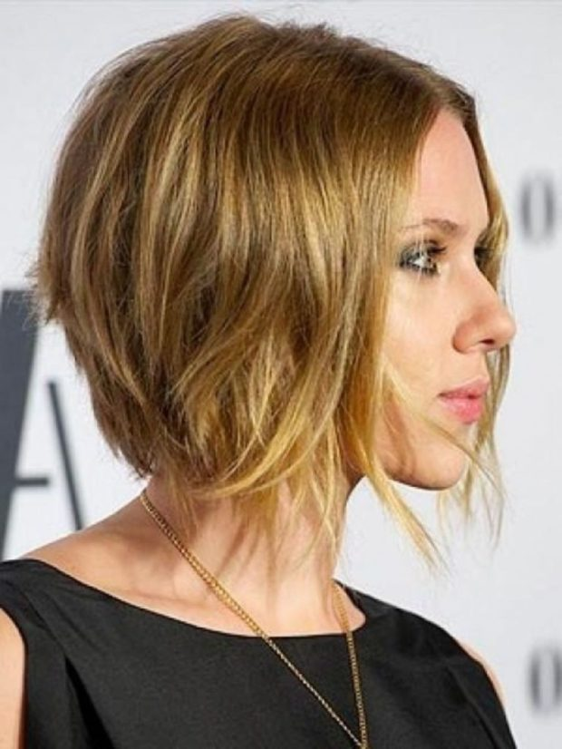 Модный цвет волос 2018-2019 на короткие женские стрижки