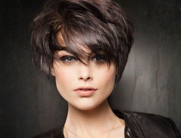 Женская стрижка на короткие волосы 2018-2019 после 40