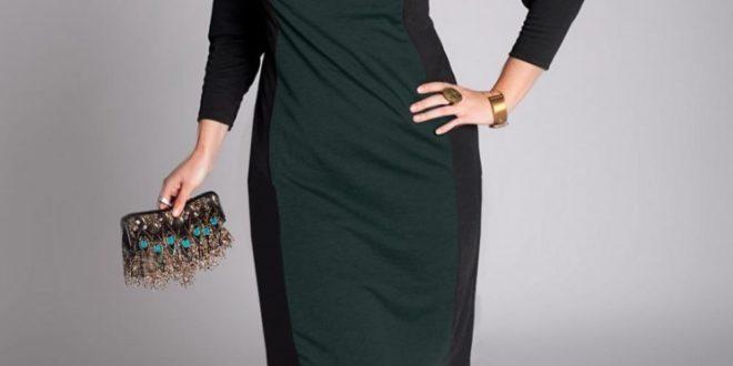 Модные платья для полных женщин 2020-2021. Фото, новинки.