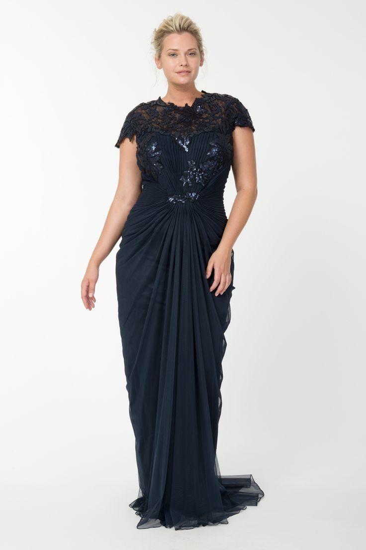 черное платье для полных длина макси