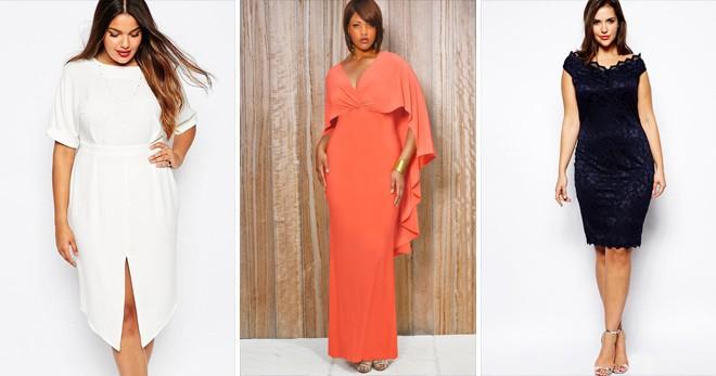 платье для полных белое оранжевое,черное