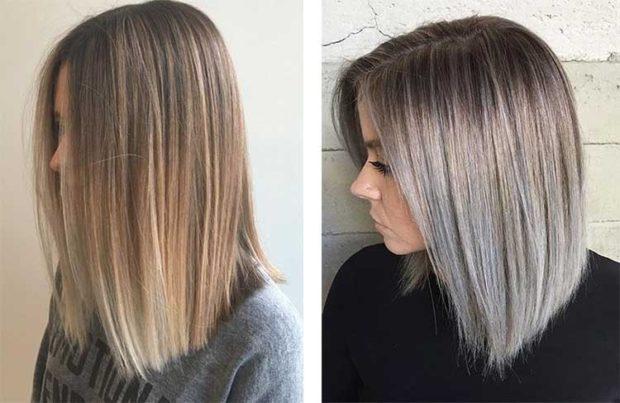 шатуш на длинные русые волосы