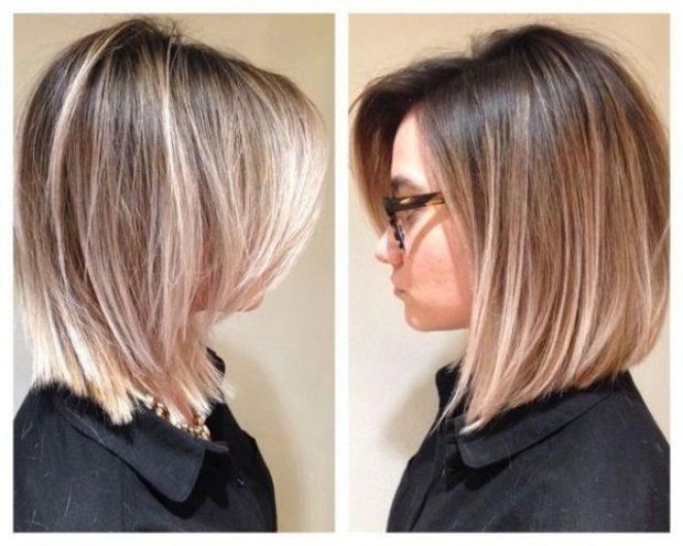 шатуш на средние волосы