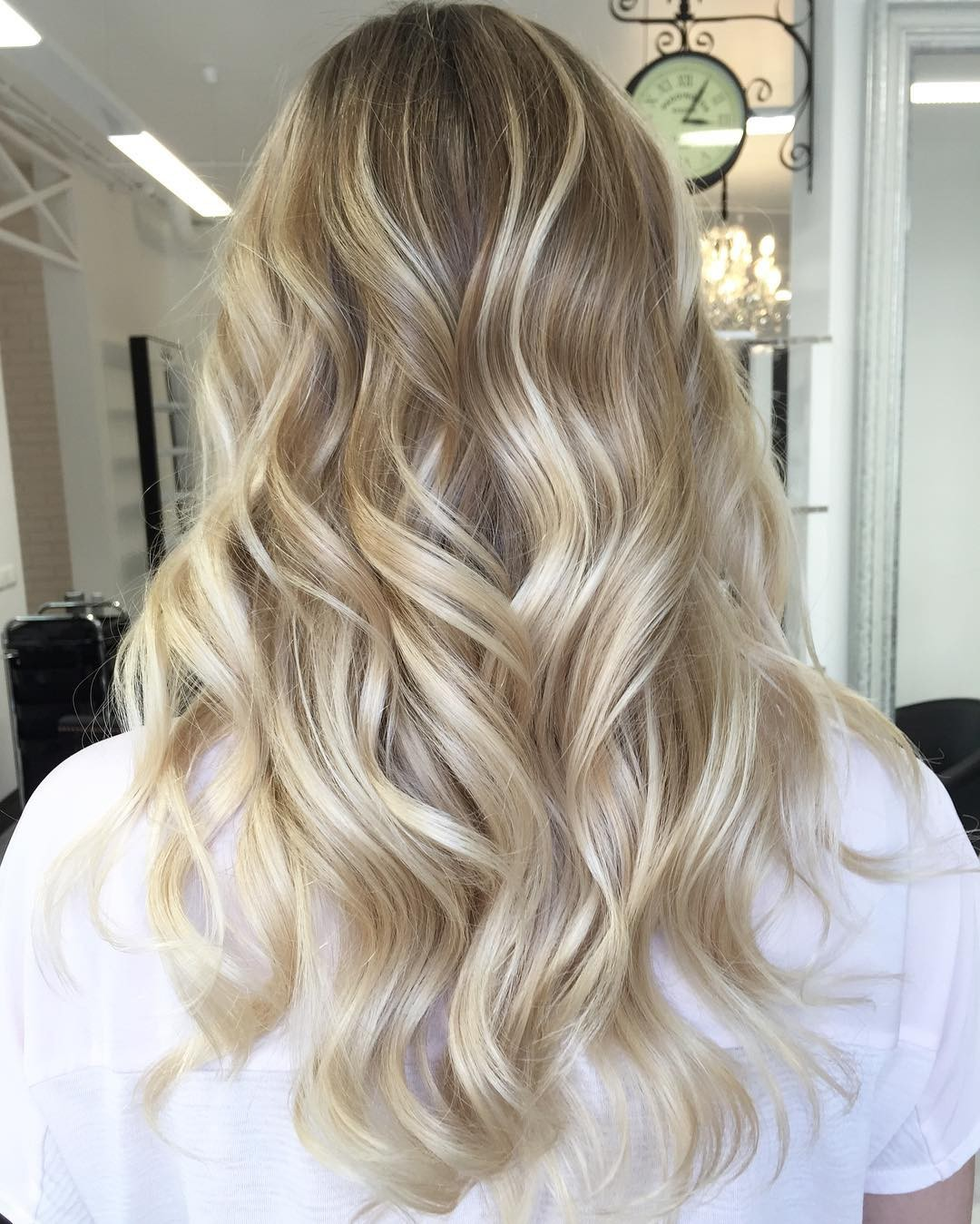 шатуш на светлые волосы