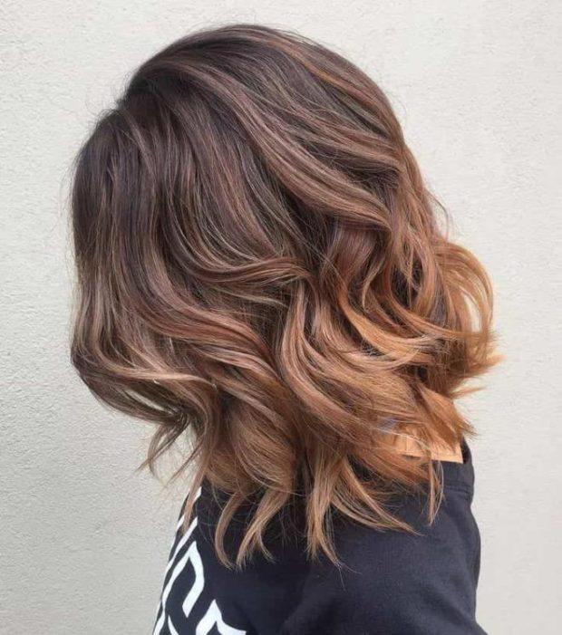 шатуш на прямые волосы