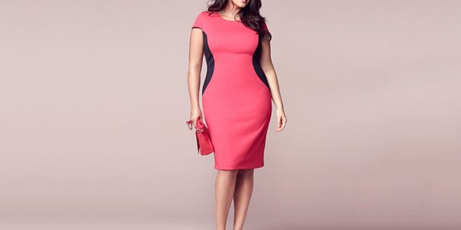 Стильная одежда для полных женщин фото с животом