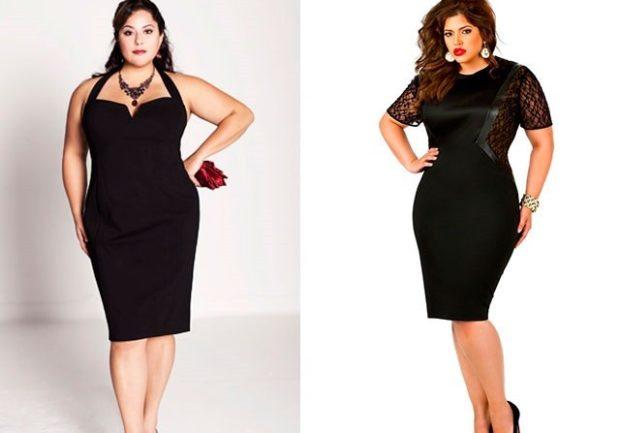 черное платье по фигуре черное с ажурным рукавом