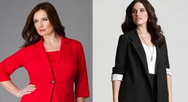 пиджак красный черный с коротким рукавом