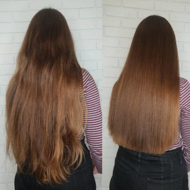стрижки на длинные волосы 2019: шоколадные волосы по пояс
