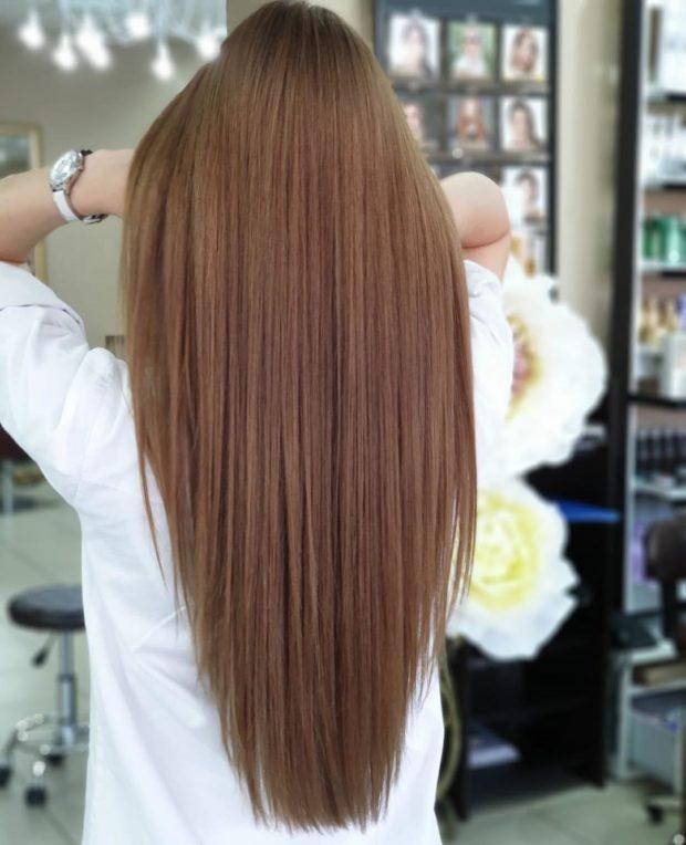 стрижки на длинные волосы 2020: асимметрия