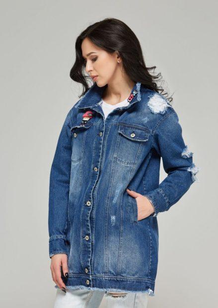 зимние джинсовые куртки с мехом 2018 2019
