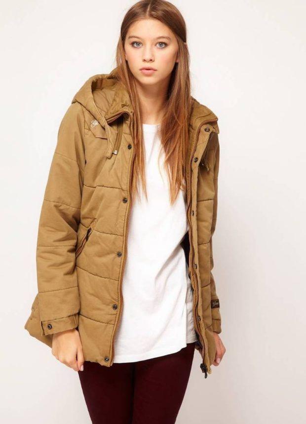 Женская зимняя куртка из Финляндии