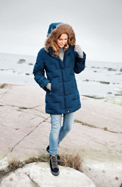 Женская зимняя куртка из Финляндии 2018 2019