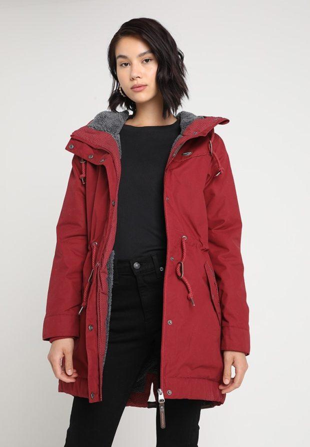Женская длинная (удлиненные) зимняя куртка 2019-2020