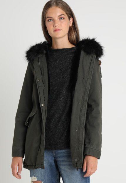 Женская парка с мехом зимняя куртка 2018 2019